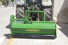 Triturador 2m. para tractores (desplazamiento hidraulico 80 cm)