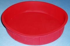 Molde de silicona redondo alto.  di�metro 23 cm