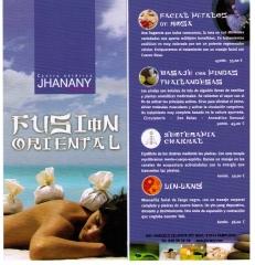 Terapias de masaje fusión oriental