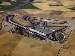 Vista aerea circuito de los arcos navarra