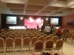 Presentaci�n en hotel malaga