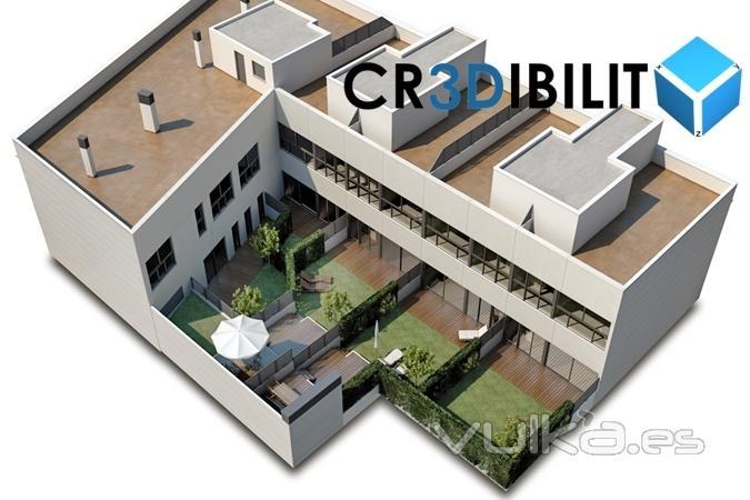Foto Infograf A Arquitectura Realista