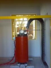 Transformador horno electrofiltro.