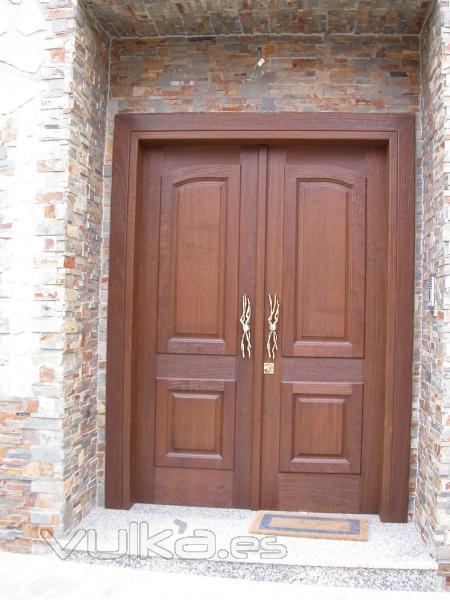 Carpinteria vergara cuenca for Puertas madera barcelona