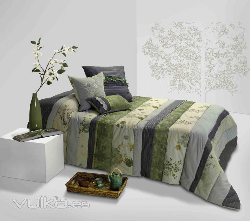 Foto bouti edred n o quilt con cojines a juego tundra - Alfombras pablo paniker ...