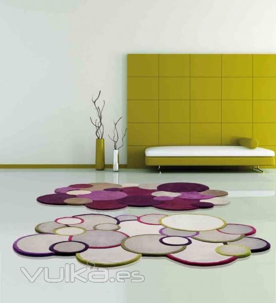 Foto alfombras modernas composici n c rculos kalahari for Imagenes alfombras modernas