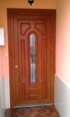 Puertas en iscar valladolid for Puertas minguela