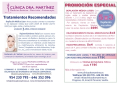 Clinica est�tica dra. mart�nez sevilla. depilaci�n m�dica, nutrici�n y fisioterapia