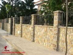 Valla piedra natural. canteras leonesas