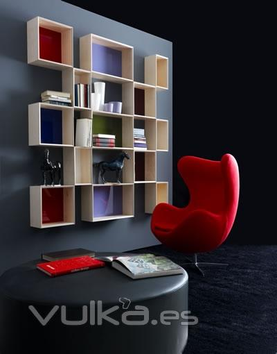 Foto muebles colgados de la firma karol ba os for Muebles colgados bano