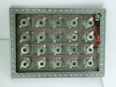 Placas de Ultrasonidos de Brida con tornillos y junta. 600 a 1000w,    (2 tama�os standard)