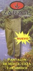 Pantalon especial zarzal para monte caza y desbroce
