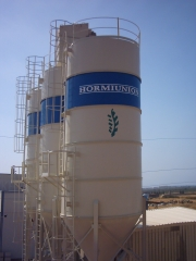 limpieza con chorro de arena y tratamiento de pintura para hormiunion (castellon)