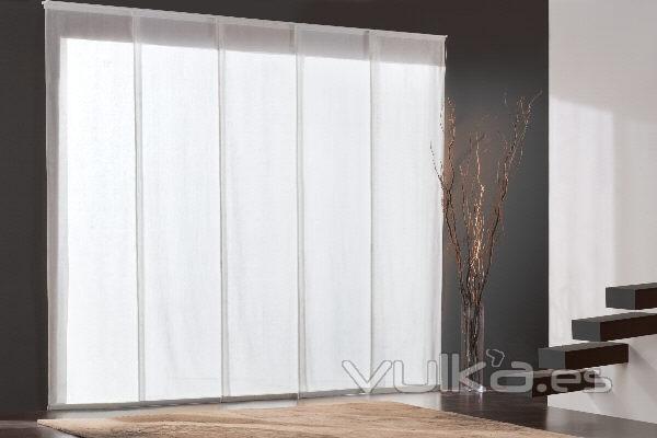 Foto paneles japoneses - Cortinas de paneles japoneses ...