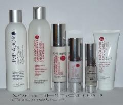 Productos faciales vincipharma cosmetics