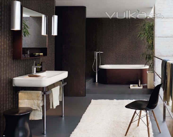 Diseno De Baño Familiar: Pozzi Ginori Modelo Easy ,baños de diseño ,lavabos,bañeras