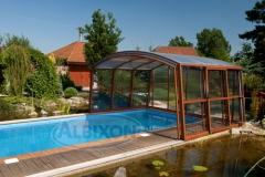 Cubierta para piscina de exterior