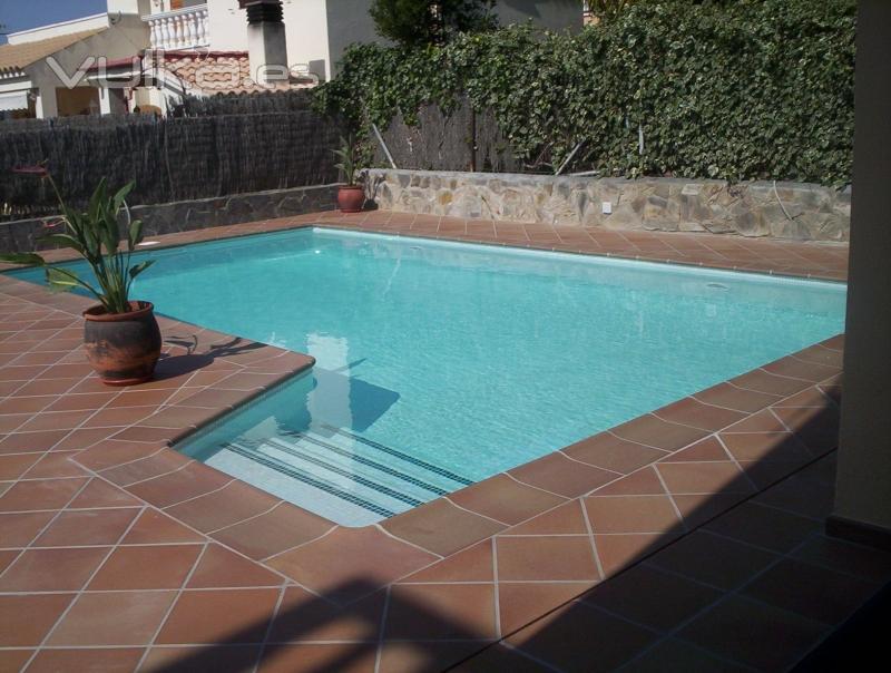 foto piscina de obra