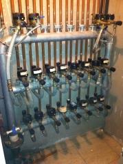 Instalaciones  comunitarias bater�as de  agua