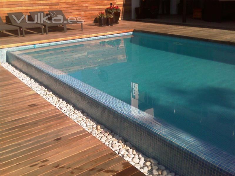 Precios piscinas for Piscina desbordante precio