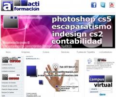 Portada de la web actiformacion.com