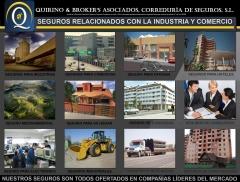 Quirino & brokers - seguros más populares relacionados con industria y comercio.