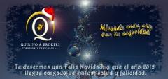 Quirino & brokers - felicitaci�n navidad y a�o nuevo