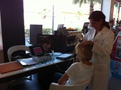 Asi fue nuestro analisis del cabello gratis en farmacia �ptica daza