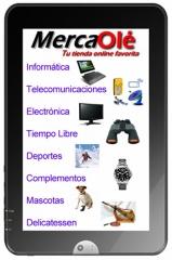 Tienda online MercaOlé