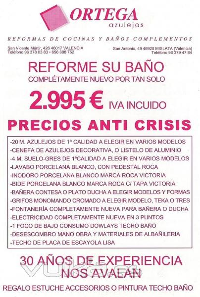 Presupuesto Baño | Foto Presupuesto Bano