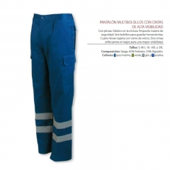 Pantalon reflectante