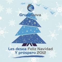 Grupoinova les desea feliz navidad y �xitos para 2012