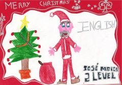 Inglés infantil jose maria ´s drawing - level 2 - christmas 2011