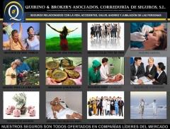 Quirino & brokers - seguros relacionados con vida , ahorro y pensiones.
