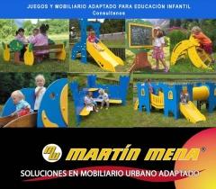 Mobiliario y juegos adaptados para educacion infantil
