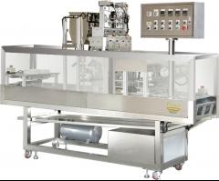 M�quina de dosificado con termosellado de vasos