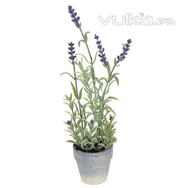 Foto plantas artificiales con flores planta lavanda - Cuidados lavanda en maceta ...