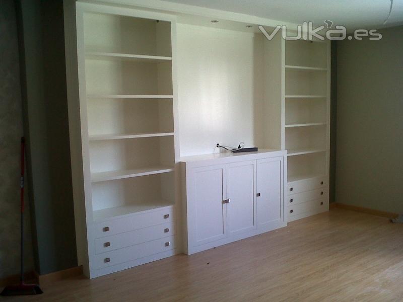 Foto libreria a medida dise amos y te hacemos el mueble - Mueble libreria a medida ...