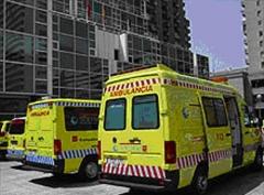 Ambulancia accidente de tráfico, juicio alcoholemia - juicio rápido alcoholemia - conducir sin punto