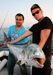 Las mejores capturas en el paraíso nde la pesca