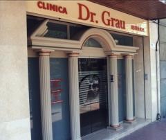 Rotulo corporeo + vinilo acido - clinica dr. grau.