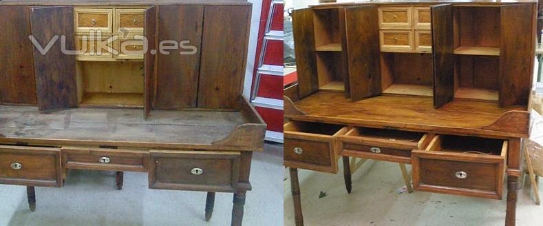 Foto restauracion de muebles - Restauracion de muebles madrid ...