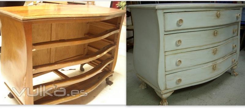 Nave jardin restauraci n y conservaci n de obras de arte - Restauracion de muebles de madera ...