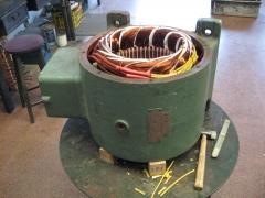 Bobinado motor siemens 90 kw. 1500 rpm.
