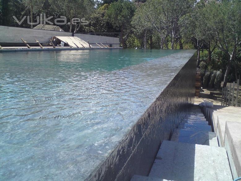 Hidromatic rosell madrid serranillos del valle c for Detalle constructivo piscina desbordante