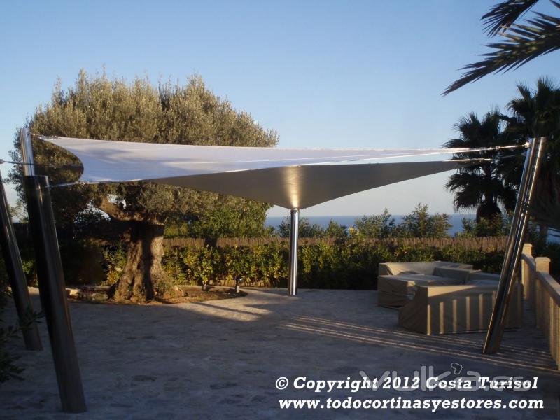 Costa turisol for Toldo piscina precio