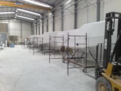 Fabrica en serie de barcos artesanales de 13.8 m en avg
