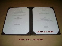 Carta de menú