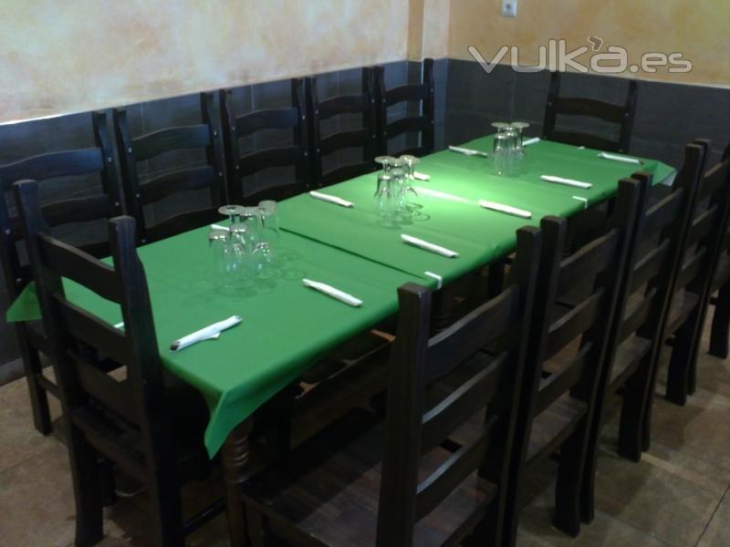 mesa para 10 comensales