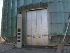 Puerta de acero inoxidable aisi-316